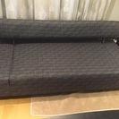 【美品】ソファーベット 簡単にベットにできるソファ