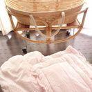 赤ちゃんの揺りかご兼ベッド