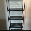 IKEA シェルフユニット(ブラック)