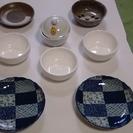 和食に最適な和皿 と ミニチキンラーメン丼