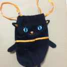 黒猫ポーチ