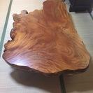 木製テーブルをお譲りします。(高級感のある、おしゃれなものですが、...