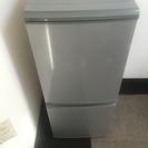 SHARPノンフロン冷蔵庫 135㍑  配達相談可