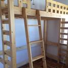 ロフトベッド木製