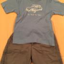 ボンポワン Tシャツパンツセット 18m
