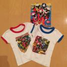 ニンニンジャーTシャツ2枚セット パンフレットつき