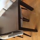 IDC大塚家具のダイニングテーブルセットをお売りします。