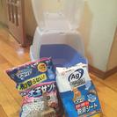【ほぼ新品】猫システムトイレセット