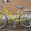 自転車26 イエロー