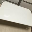 白い折りたたみテーブル!