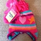 OSHKOSH  帽子、手袋セット 新品タグ付き