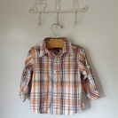 DKNY ボタンダウンシャツ  3-6mons