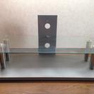 テレビ台(ガラス製)