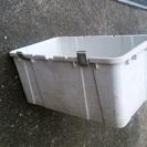 屋外用収納ボックス 80㎝×55㎝ 蓋なし 中古