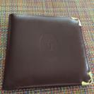 【お取引中】カルティエの二つ折り財布