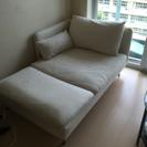 IKEAソファ二人用カウチソファ