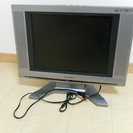 DVDプレイヤー内臓15型液晶テレビ 中古