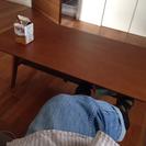 折りたたみ式センターテーブル(大っきいキズあり)