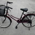 (商談中)えんじ色の自転車♪