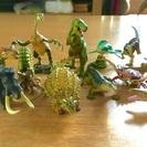 海洋堂製 恐竜フィギア
