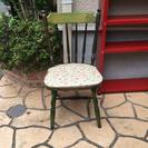 【取引中/無料】レトロ椅子