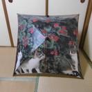 ●猫の写真の傘 フランス製 未使用