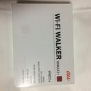 値引! au Wi-Fi Walker WiMAX2+ レッド