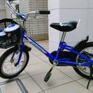 14インチ男の子向け補助輪付き自転車