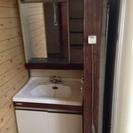 大阪市鶴見区 7月下旬には処分します。洗面台