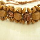 【エジプト土産】【未使用】木製ブレスレット