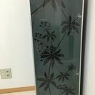 IKEAガラス扉付き棚2台セット(ブラック)