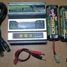 ラジコン 充電器  リポ ニッケル バッテリー 付きセット