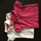女児向け 半袖ポロシャツセット80&74サイズ 中古