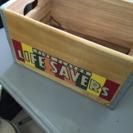 【終了】可愛い木箱