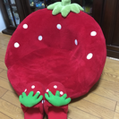 マザーガーデン 苺のソファ(中古)