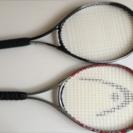 テニスラケット2本