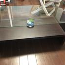 オシャレガラステーブル