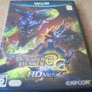 WiiU モンスターハンター3G(トライ) HD Ver. 新品