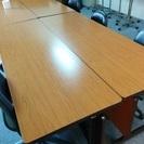 【会議机】オフィス移転につき格安です。 UCHIDA会議机