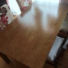 【値下げ‼︎】ダイニングテーブル+椅子4脚セット