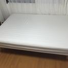 IKEA製 セミダブルサイズベッドです!!7/23〜7/24日に受...