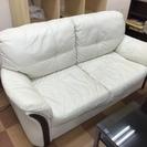 白のソファ