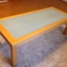 アイリスオーヤマ ガラスセンターテーブル
