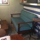 カフェのソファ