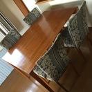 ADAL ダイニングテーブルセット(テーブル+イス4脚)