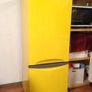 東芝冷蔵庫2ドアTOSHIBA 145L GR-W15B/イエロー
