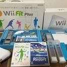 任天堂 Wii本体、バランスボード、Wiiモーション、ソフトのセット