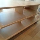 テレビ台 テレビボード IKEA BENNO キャスター付 無料