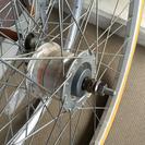 自転車用オートライトのタイヤとウィールセット
