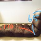 ニトリの大型座椅子